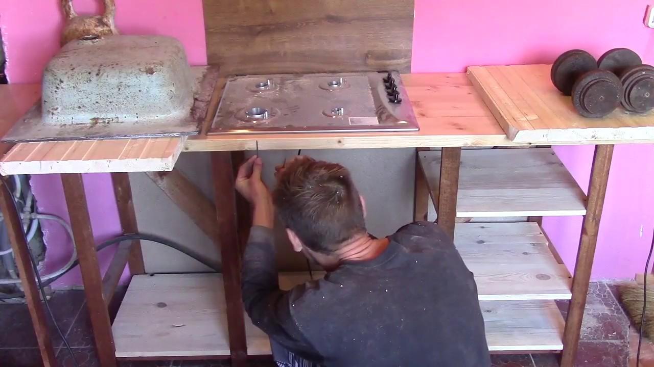 Как сделать столешницу из дерева своими руками на кухню 77