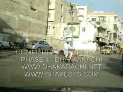 PHASE 4  COMMERCIAL AREA  ST NO 9&10  DHA DEFENCE  KARACHI PAKISTAN REALESTATE PROPERTY