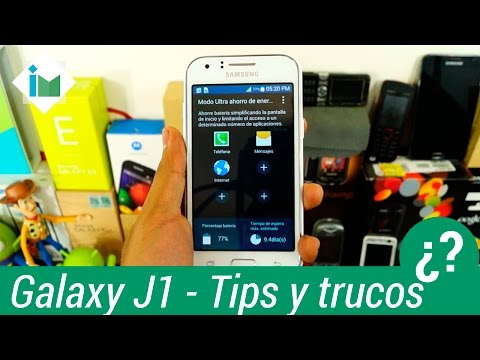 Samsung Galaxy J1 - Tips y trucos