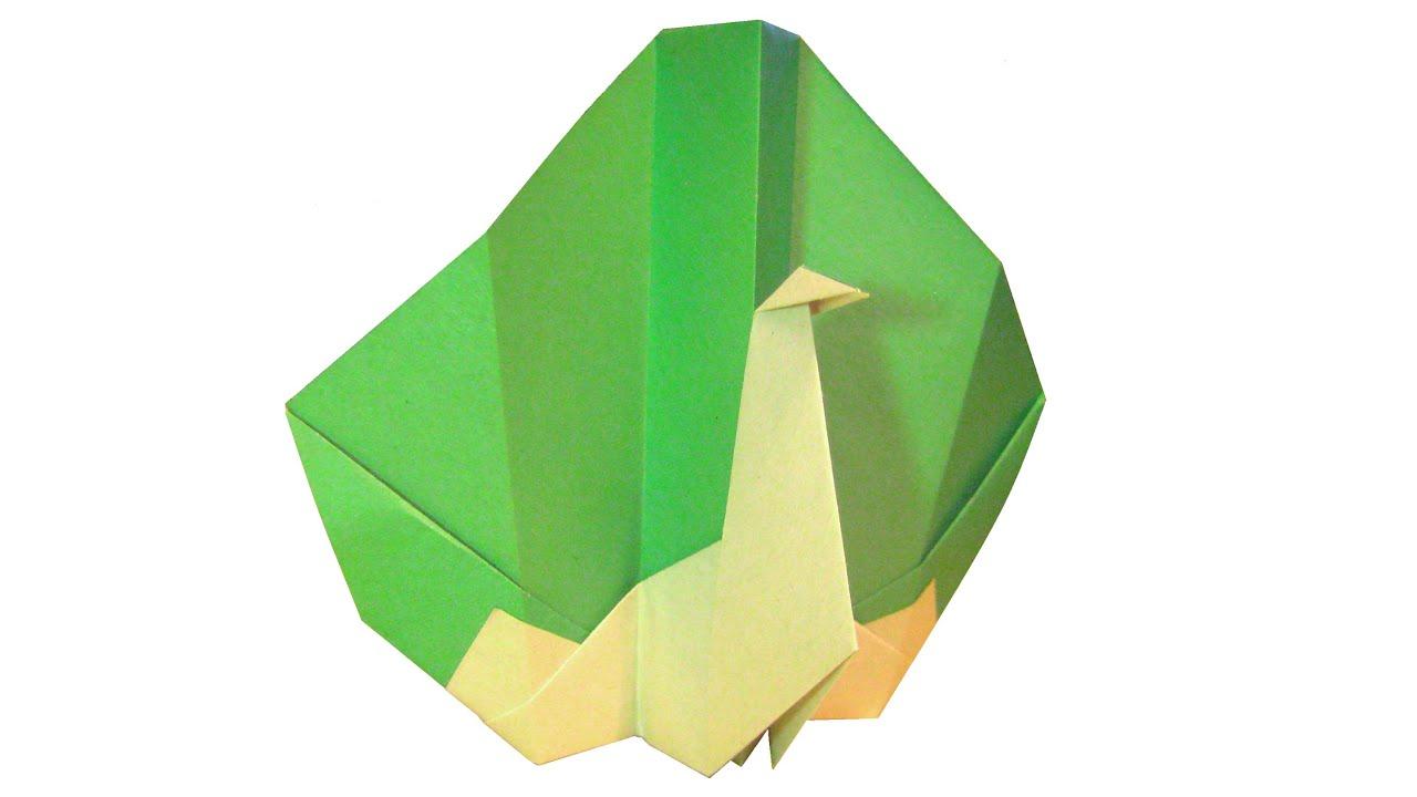 Как сделать оригами павлина своими руками