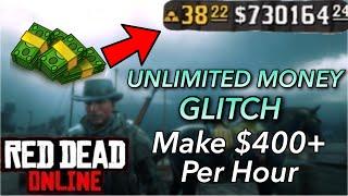 UNLIMITED MONEY GLITCH on Red Dead Redemption 2 Online Make $400 Every Hour Best Money Making Method