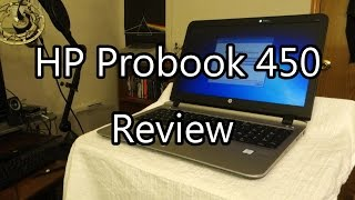 HP Probook 450 G3 (2016) Review - Theje's Notebook Review