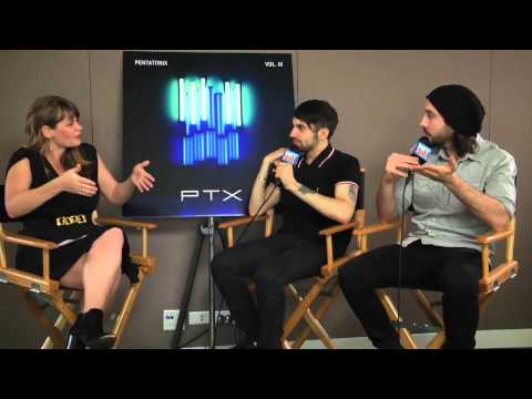 Mitch Grassi And Avi Kaplan Of Pentatonix On Choosing Ideal Cover Songs | Hitfix Mix-- Episode #2 video