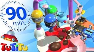 TuTiTu Deutsch | Schokolade | Und andere pädagogische Spielzeuge | 90 Minuten Spezial