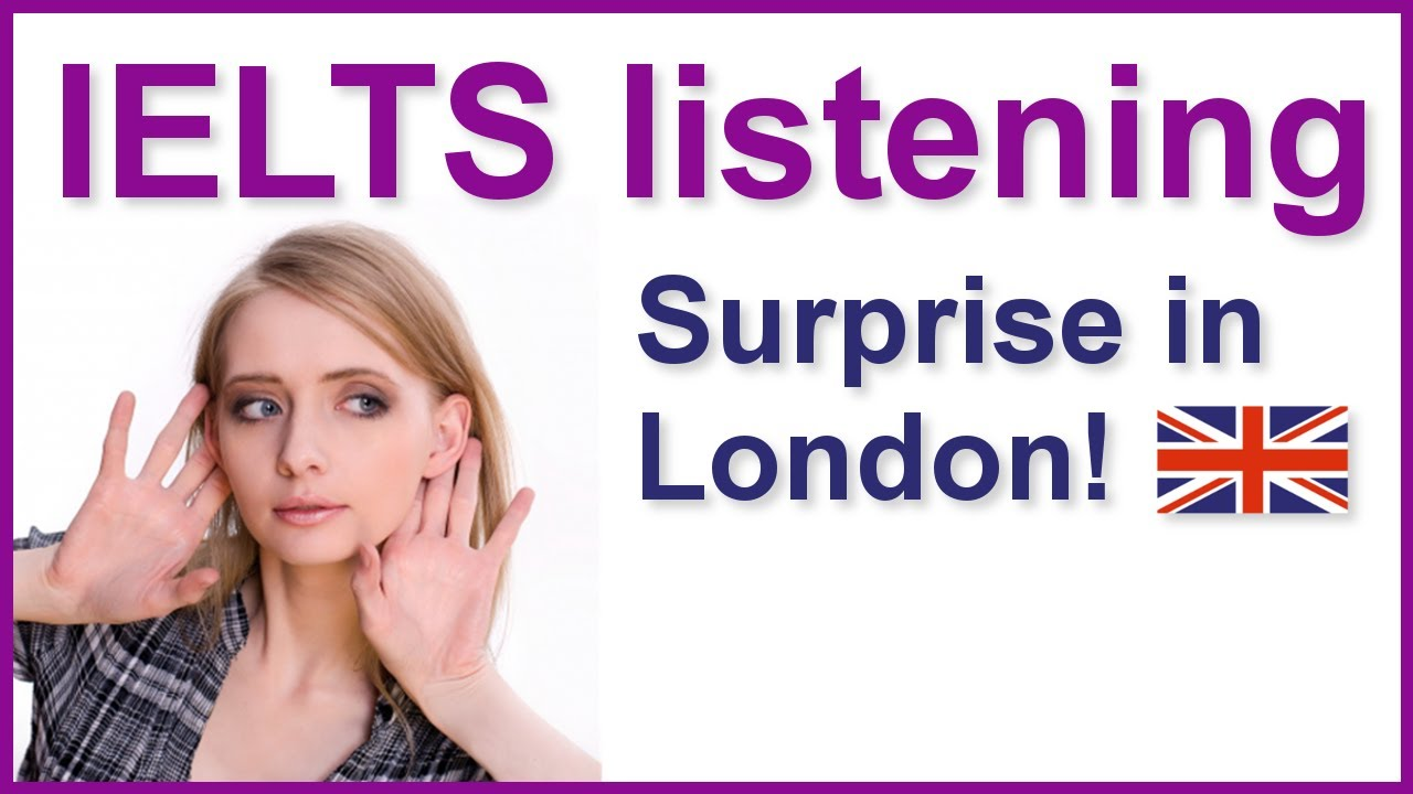 IELTS Map  listening practice