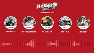 SPEAK FOR YOURSELF Audio Podcast (09.24.19)with Marcellus Wiley, Jason Whitlock | SPEAK FOR YOURSELF