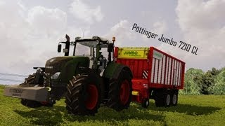 Farming Simulator 2013 Pöttinger Jumbo 7210 CL