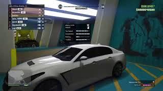GTA Online 5 ALL MY Car Garage  Tour