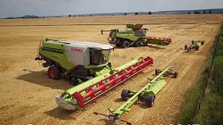 "CLAAS LEXION 795 ""Monster Limited Edition"" u. CLAAS LEXION 770 die"" Herausforderung"""