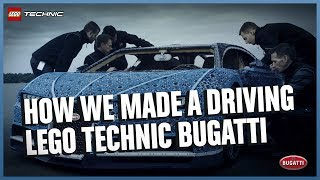 How the LEGO Technic Bugatti Chiron Driving Life Size Model was Made Documentary