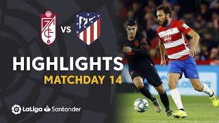 Highlights Granada CF vs Atletico Madrid (1-1)
