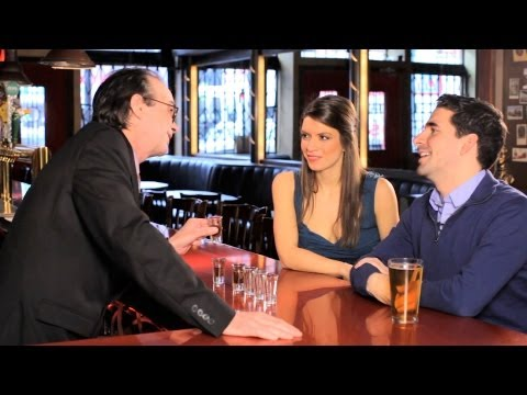 How to Win the 6 Shot Glasses Bar Bet | Bar Tricks