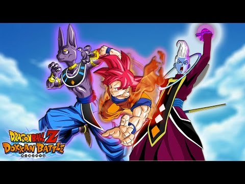 Super Saiyan God Goku. Beerus. Whis? No Problem! Hero Extermination   Dragon Ball Z Dokkan Battle