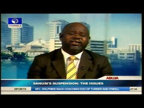 Banking Revolution That Crashed the Market is Bigger than Sanusi's Suspension -- Awonusi
