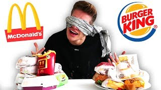McDonald's VS Burger King 🍟🍔 (BLIND ERRATEN) 👀