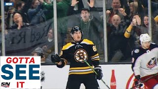 GOTTA SEE IT: Brad Marchand Mimics Conor McGregor's Strut After Scoring OT Goal