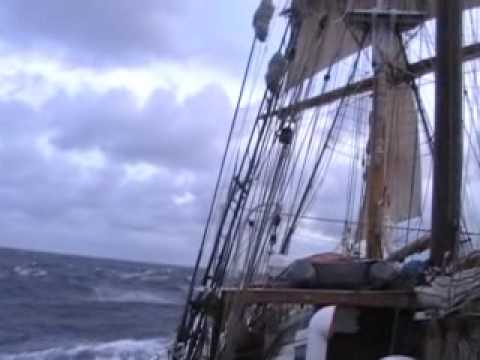 Tall Ship Soren Larsen - Southern Ocean 3.
