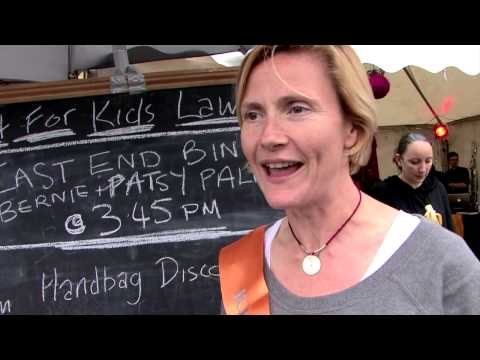 Art Car Boot Fair 2013 - with Patsy Palmer
