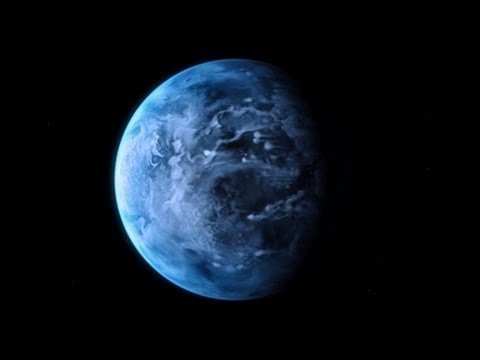 Alien Planet Has Blue Color Like Earth | ESA Hubble Space Science HD Video