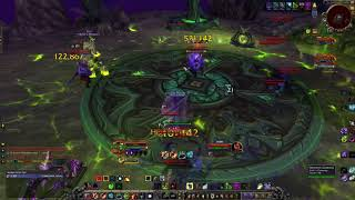 Affliction Warlock - Mage Tower. Mortal Coil Cheese 7.3