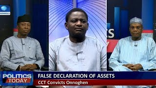 Onnoghen: Adeshina, Oyeniyi Disagree Over Legality Of Process Followed |Politics Today|