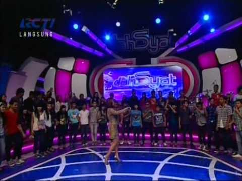 Melinda - Aw Aw Live Performed di Dahsyat (0912) Courtesy RCTI...