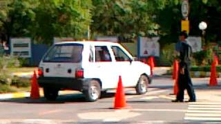 Awais's Driving Test at ITP