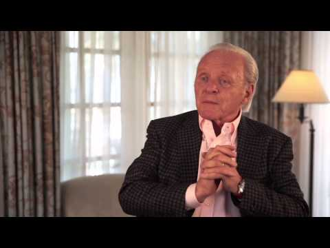 "Noah: Anthony Hopkins ""Methuselah"" On Set Movie Interview"