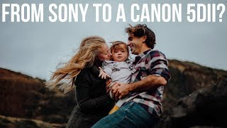 Sony to a Canon 5DII ?! - Why You Don't Need an Expensive Kit