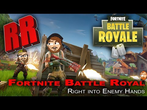 Fortnite Funny Moments - Battle Royal - Right into Enemy Hands