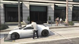 GTA 5 : Bugatti Veyron Location ! ( Million Dollar Car ! )