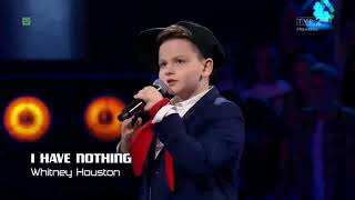 "Paweł Szymański-,,I have nothing"" Sing Off The Voice Kids"
