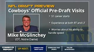 Cowboys Pre-Draft Visits Tracker: Prospects Dallas Had Official Visits With Before 2018 NFL Draft