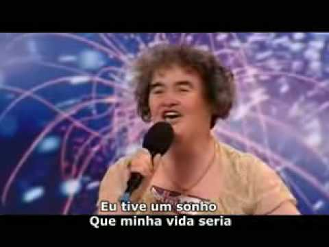 Susan Boyle Britain's Got Talent (legendado português do Brasil)
