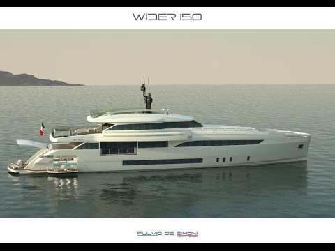 WIDER 150   46m Diesel-Electric Motor Yacht