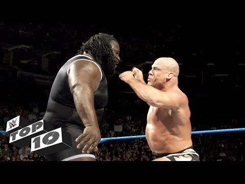 Superstar Giant Slayers - WWE Top 10