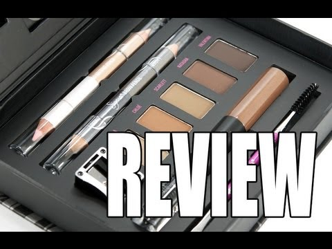 SIGMA BROW DESIGN KIT REVIEW