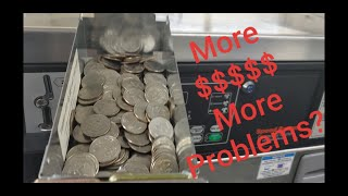 Yet another laundromat quarter collection video