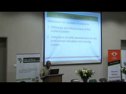 WIL Africa Conference 2015 - Mr Thabo Mushongoane
