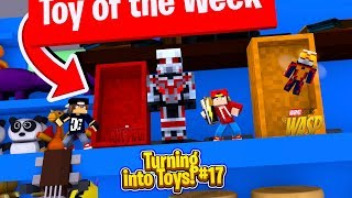 Minecraft Toys #17 - BRINGING ANT-MAN TO LIFE SO HE CAN MAKE US BIG!