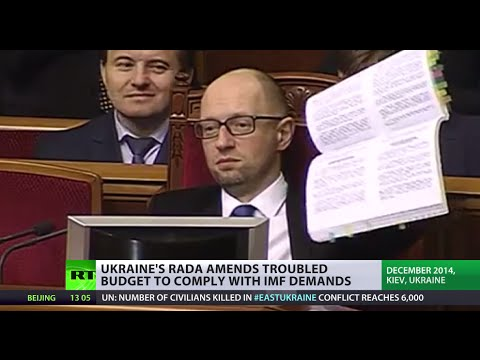 'Budget of genocide'? Ukraine makes amendments to meet IMF demands