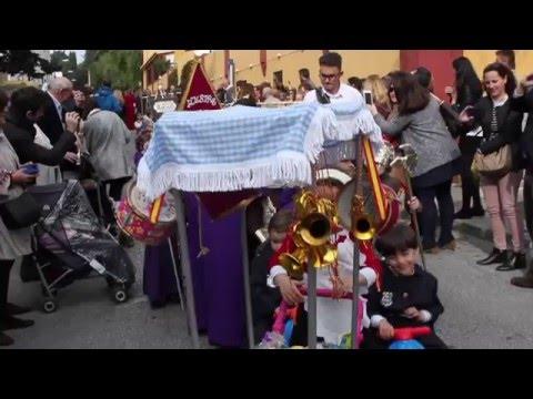Procesión Ed Infantil Semana Santa 2016 Colegio de La Presentación de Málaga