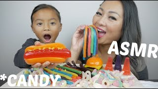 CANDY ASMR *Chewy Eating Sounds  | N.E Let's Eat