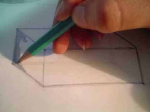 Prisma rectangular youtube for Como hacer un sobre rectangular