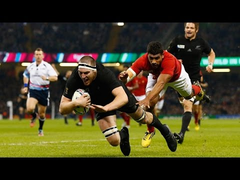 All Blacks Charge Through For France To Score