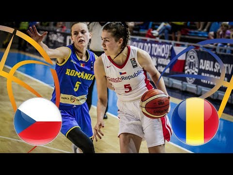 Czech Republic v Romania - Full Game - Semi-Finals - FIBA U20 Women's European Championship - Div B
