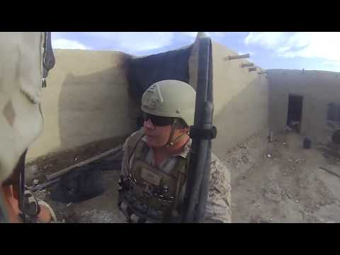 Marine Survives Sniper Headshot By Inches In Afghanistan