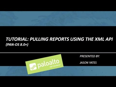Tutorial: Pulling Reports using the XML API - YouTube
