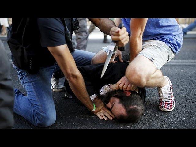 حمله یهودی بنیادگرا به رژه همجنسگرایان در اورشلیم با چاقو