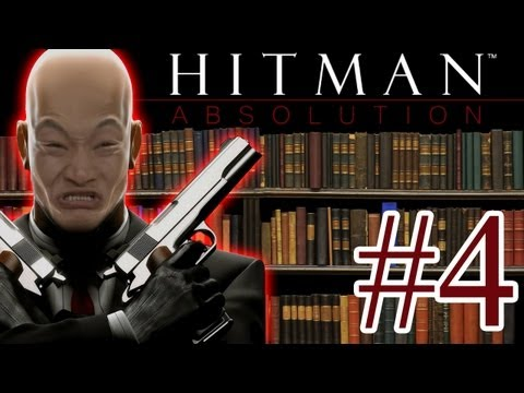 Las bibliotecas no son para pelados - Hitman Absolution #4